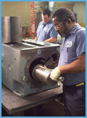 rotary piston vacuum pump repair